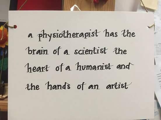 Physiotherapist artist